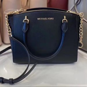 Michael kors sm conv Ellis satchel black